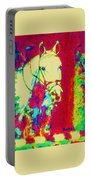 Horse Painting Jumper No Faults Psychedelic Portable Battery Charger