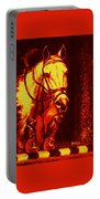 Horse Painting Jumper No Faults Reds Portable Battery Charger