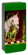 Horse Painting Jumper No Faults Reds Greens Portable Battery Charger