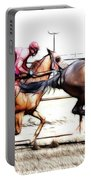 Horse Racing Dreams 2 Portable Battery Charger
