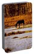 Horse Silhouetted Portable Battery Charger