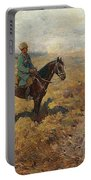Horsemen In The Hills Portable Battery Charger