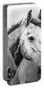 Horses - Id 16217-202749-4749 Portable Battery Charger