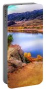 Horsetooth Lake Overlook Portable Battery Charger