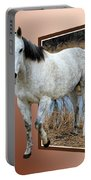Horsing Around Portable Battery Charger by Shane Bechler