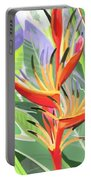 Hort Park Heliconia Portable Battery Charger