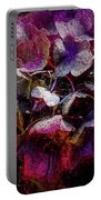 Colorful Hortensia Closeup Portable Battery Charger