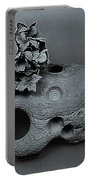 Hortensia Stone Circle Of Life Bw Portable Battery Charger