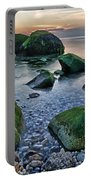 Horton Point Ny At Sunset Portable Battery Charger