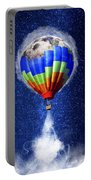 Hot Air Balloon / Digital Art Portable Battery Charger