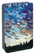Hot August Sunrise Portable Battery Charger