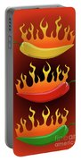 Hot Chilies Portable Battery Charger