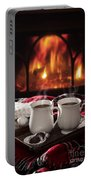 Hot Chocolate Drinks Portable Battery Charger