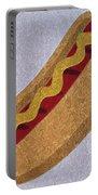 Hot Dog Emoji Portable Battery Charger
