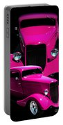 Hot Pink 33  Portable Battery Charger