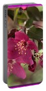 Hot Pink Blossoms Portable Battery Charger