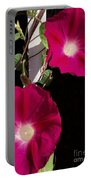 Hot Pink Glories Portable Battery Charger