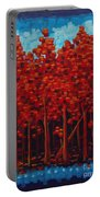 Hot Reds Portable Battery Charger