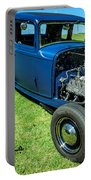 Hot Rod Blues Portable Battery Charger
