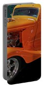 Hot Rod Orange Portable Battery Charger
