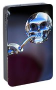 Hot Rod Skull Rear View Mirror Portable Battery Charger