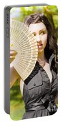 Hot Woman Portable Battery Charger by Jorgo Photography - Wall Art Gallery