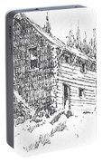 Hotel Red Lion Ghost Town Montana Portable Battery Charger
