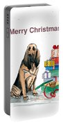 Hounddog Christmas Portable Battery Charger