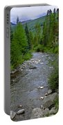 House By The Stream In Vail 2 Portable Battery Charger