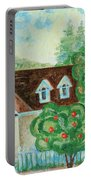 House In The Village Portable Battery Charger