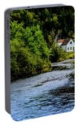 House On Margaree River Portable Battery Charger