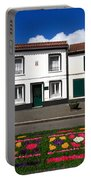 Houses In The Azores Portable Battery Charger