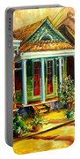 Houses In The Marigny Portable Battery Charger