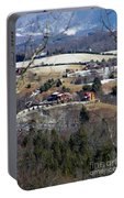 Houses On The Mountains Portable Battery Charger