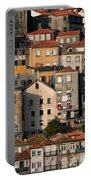 Houses Of Porto In Portugal Portable Battery Charger