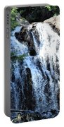Houston Brook Falls Panorama Portable Battery Charger