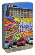 Houston, Inspired, Hip, Tasty, Funky, Savvy Portable Battery Charger