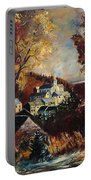 Houyet Village Belgium Portable Battery Charger