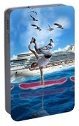 Hoverboarding Across The Atlantic Ocean Portable Battery Charger