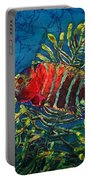 Hovering - Red Banded Wrasse Portable Battery Charger