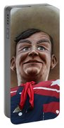 Howdy Folks - Big Tex Portrait 02 Portable Battery Charger