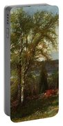 Hudson River At Croton Point Portable Battery Charger