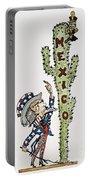 Huerta: Cartoon, C1914 Portable Battery Charger