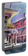 Hues Of The French Quarter Portable Battery Charger