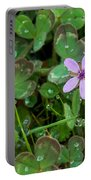 Huge Beauty In A Small Wildflower Portable Battery Charger
