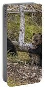 Hugging A Tree Portable Battery Charger