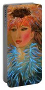 Hula In Turquoise Portable Battery Charger