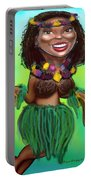 Hula Dancer Portable Battery Charger