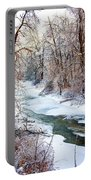 Humber River Winter Portable Battery Charger