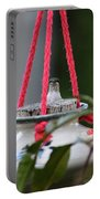 Hummingbird At Sunrise Peek A Boo Portable Battery Charger